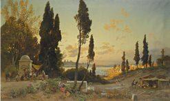 View Across the Bosphorus