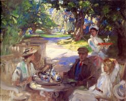 The Garden Party | James Guthrie | Oil Painting
