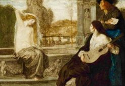 Venus and the dilettanti | Robert Anning Bell | Oil Painting