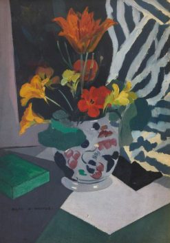 Vase of Flowers | Allan Douglass Mainds | Oil Painting