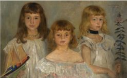 Three Girls | Lovis Corinth | Oil Painting
