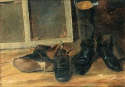 Boots and Shoes | Paul-Desire Trouillebert | Oil Painting