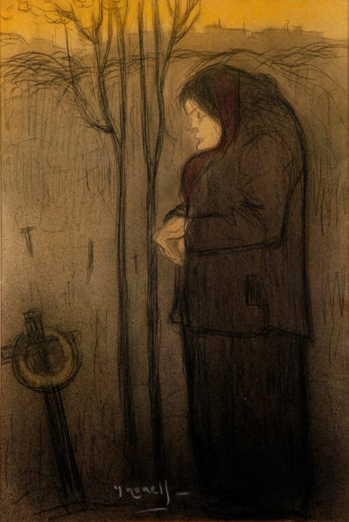 The Widow   Isidro Nonell Monturiol   Oil Painting