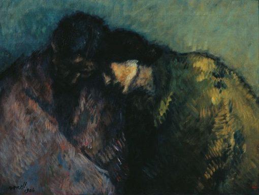 Hardship   Isidro Nonell Monturiol   Oil Painting