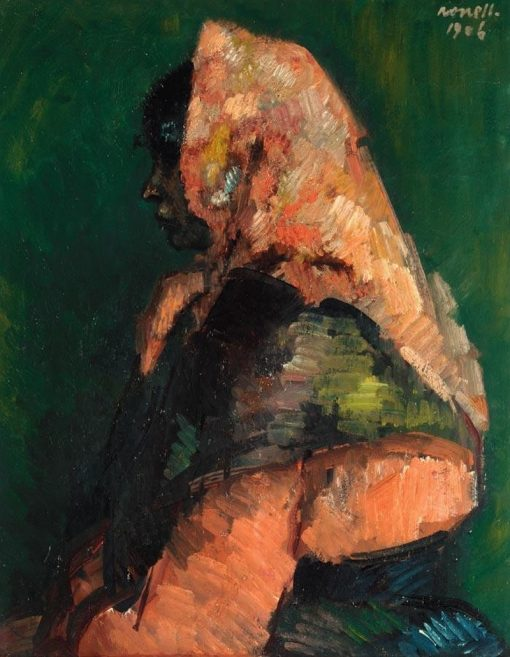 Gypsy   Isidro Nonell Monturiol   Oil Painting