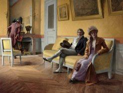 Reconcilable Differences | Henri Adolphe Laissement | Oil Painting