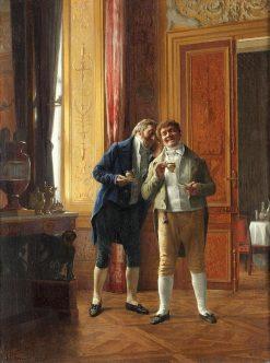 A Good Story | Henri Adolphe Laissement | Oil Painting
