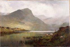 Loch Ness | Alfred de Breanski