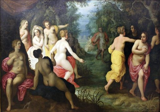 Diana and Actaeon | Hendrick van Balen | Oil Painting