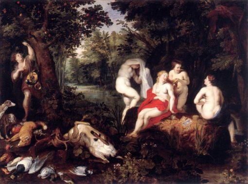 Diana Resting after the Hunt | Hendrick van Balen | Oil Painting