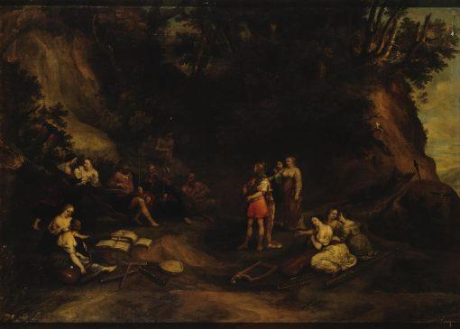 The Judgement of Midas   Hendrick van Balen   Oil Painting