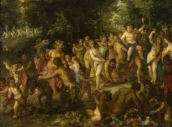A Bacchic Procession | Hendrick van Balen | Oil Painting