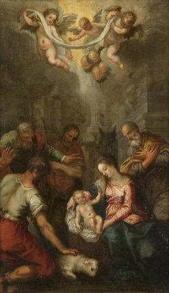 The Adoration of the Shepherds | Hendrick van Balen | Oil Painting