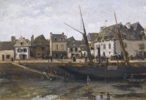 View of Concarneau | Alexander Beggrov | Oil Painting