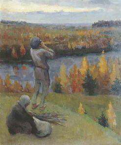 Autumn | Nikolai Fokin | Oil Painting