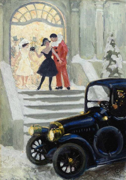 After the Ball | Paul-Gustave Fischer | Oil Painting