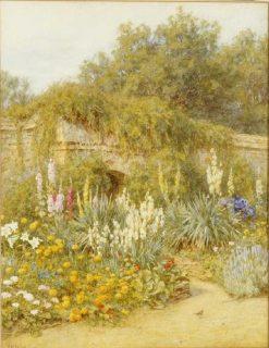 The Garden Gertrude Jekyll in Munstead Wood | Helen Allingham | Oil Painting
