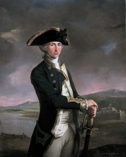 Portrait of Horatio Nelson | John Francis Rigaud | Oil Painting