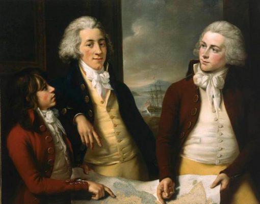 The three sons of William Money