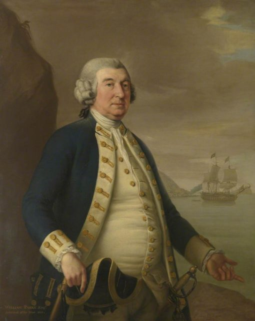 Admiral William Parry | John Francis Rigaud | Oil Painting