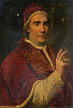 Pope Clement XIV | John Francis Rigaud | Oil Painting