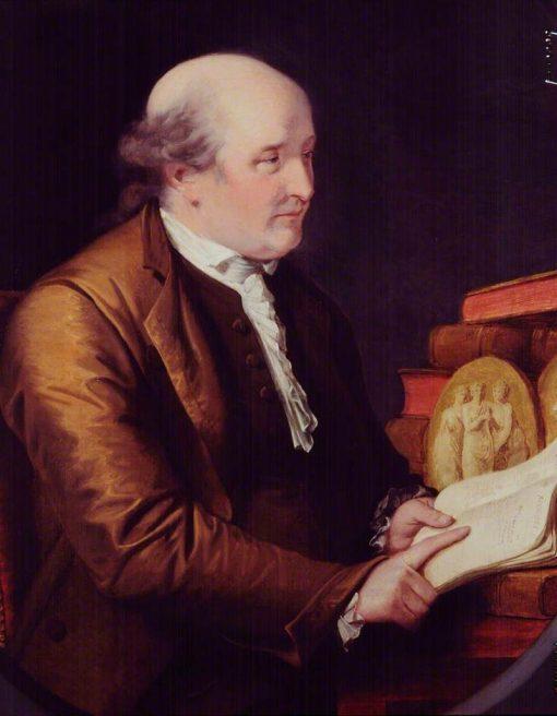 Thomas Bentley   John Francis Rigaud   Oil Painting