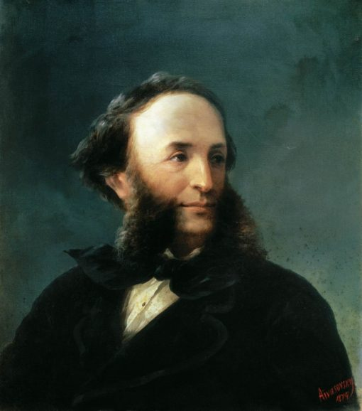 Self Portrait   Ivan Constantinovich Aivazovsky   Oil Painting