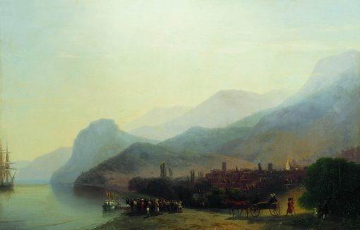 Alushta   Ivan Constantinovich Aivazovsky   Oil Painting