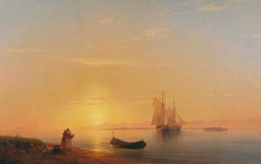 The Coast of Dalmatia | Ivan Constantinovich Aivazovsky | Oil Painting