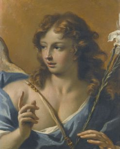 The Angel of the Annunciation | Sebastiano Ricci | Oil Painting