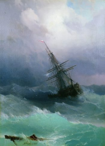 The Storm | Ivan Constantinovich Aivazovsky | Oil Painting