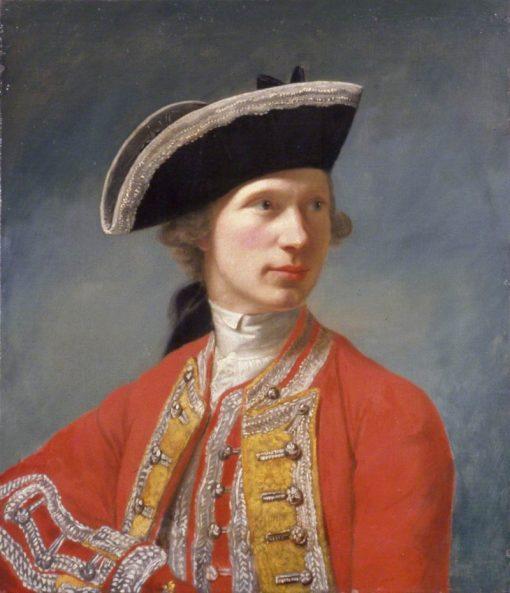 Captain William Baillie | Robert Edge Pine | Oil Painting