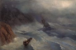 The Stormy Sea | Ivan Constantinovich Aivazovsky | Oil Painting