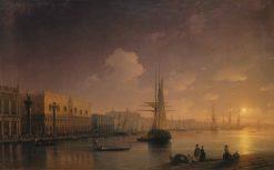 Night in Venice | Ivan Constantinovich Aivazovsky | Oil Painting