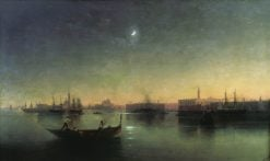 Venice | Ivan Constantinovich Aivazovsky | Oil Painting