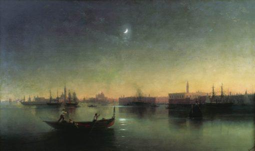 Venice   Ivan Constantinovich Aivazovsky   Oil Painting