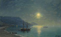Evening in Crimea   Ivan Constantinovich Aivazovsky   Oil Painting