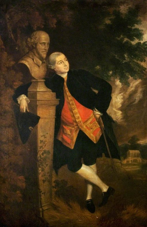 David Garrick | Robert Edge Pine | Oil Painting