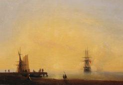 Evening | Ivan Constantinovich Aivazovsky | Oil Painting