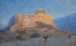 Acropolis of Athens | Ivan Constantinovich Aivazovsky | Oil Painting