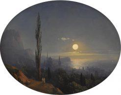 Alupka | Ivan Constantinovich Aivazovsky | Oil Painting