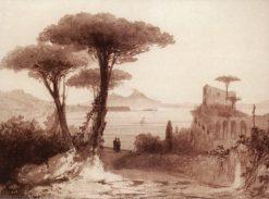 View of Vesuvius | Ivan Constantinovich Aivazovsky | Oil Painting