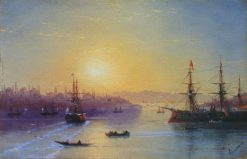 View of Constantinople | Ivan Constantinovich Aivazovsky | Oil Painting