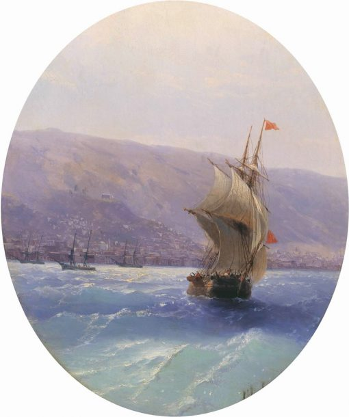 View of Crimea | Ivan Constantinovich Aivazovsky | Oil Painting