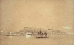 View of Lisbon | Ivan Constantinovich Aivazovsky | Oil Painting