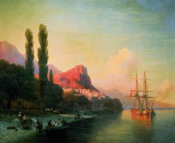 View of the Golden Horn | Ivan Constantinovich Aivazovsky | Oil Painting