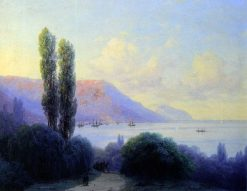 View of Yalta | Ivan Constantinovich Aivazovsky | Oil Painting