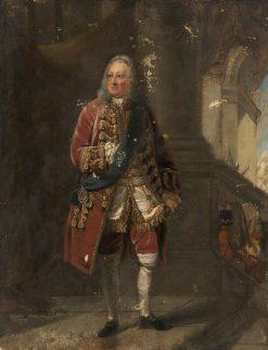 George II | Robert Edge Pine | Oil Painting
