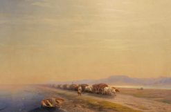 The Oxen | Ivan Constantinovich Aivazovsky | Oil Painting