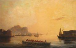The Harbor | Ivan Constantinovich Aivazovsky | Oil Painting